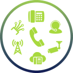 telecommunications service bundle icon