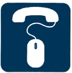 ESI business phone system click-to-call icon