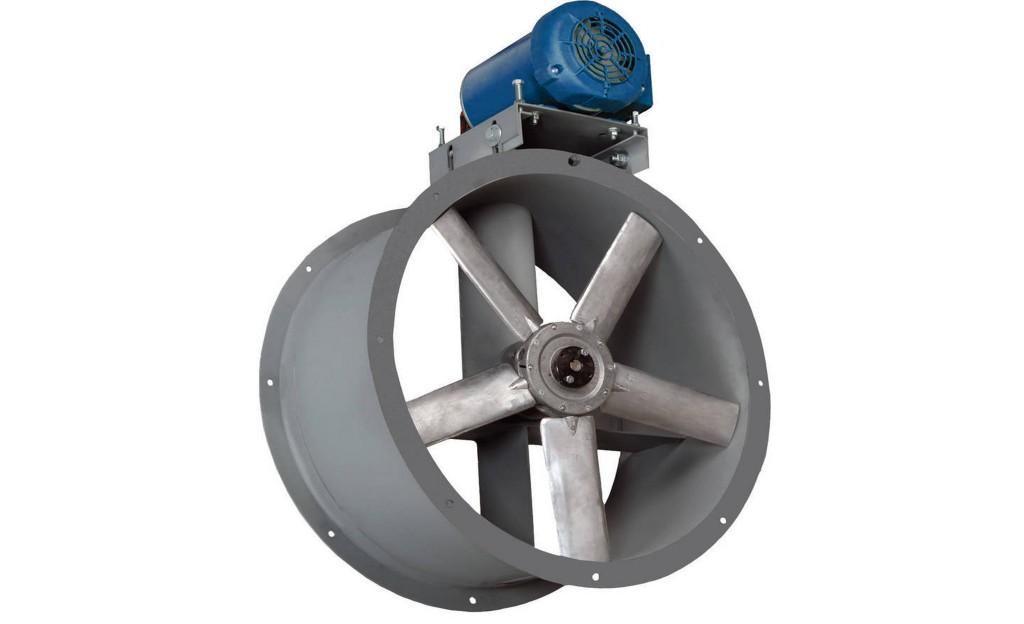 Axial Tubular Fan : Tube axial fan motor  accudraft
