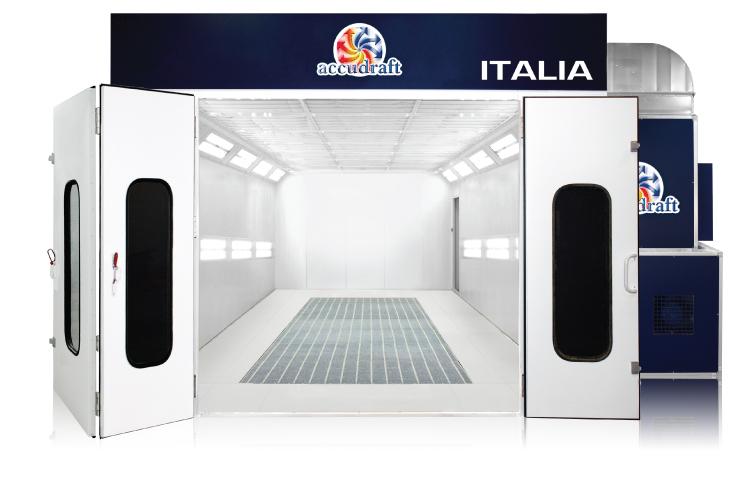 Accudraft ITALIA downdraft paint booth