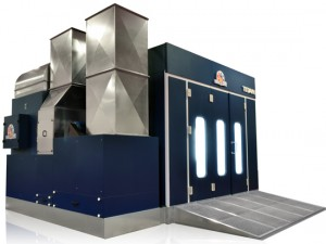 Titan Downdraft Paint Booth Accudraft