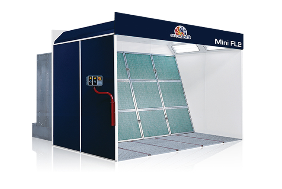 Mini Fl2 Open Face Spray Booth For Parts Amp Bumpers Accudraft