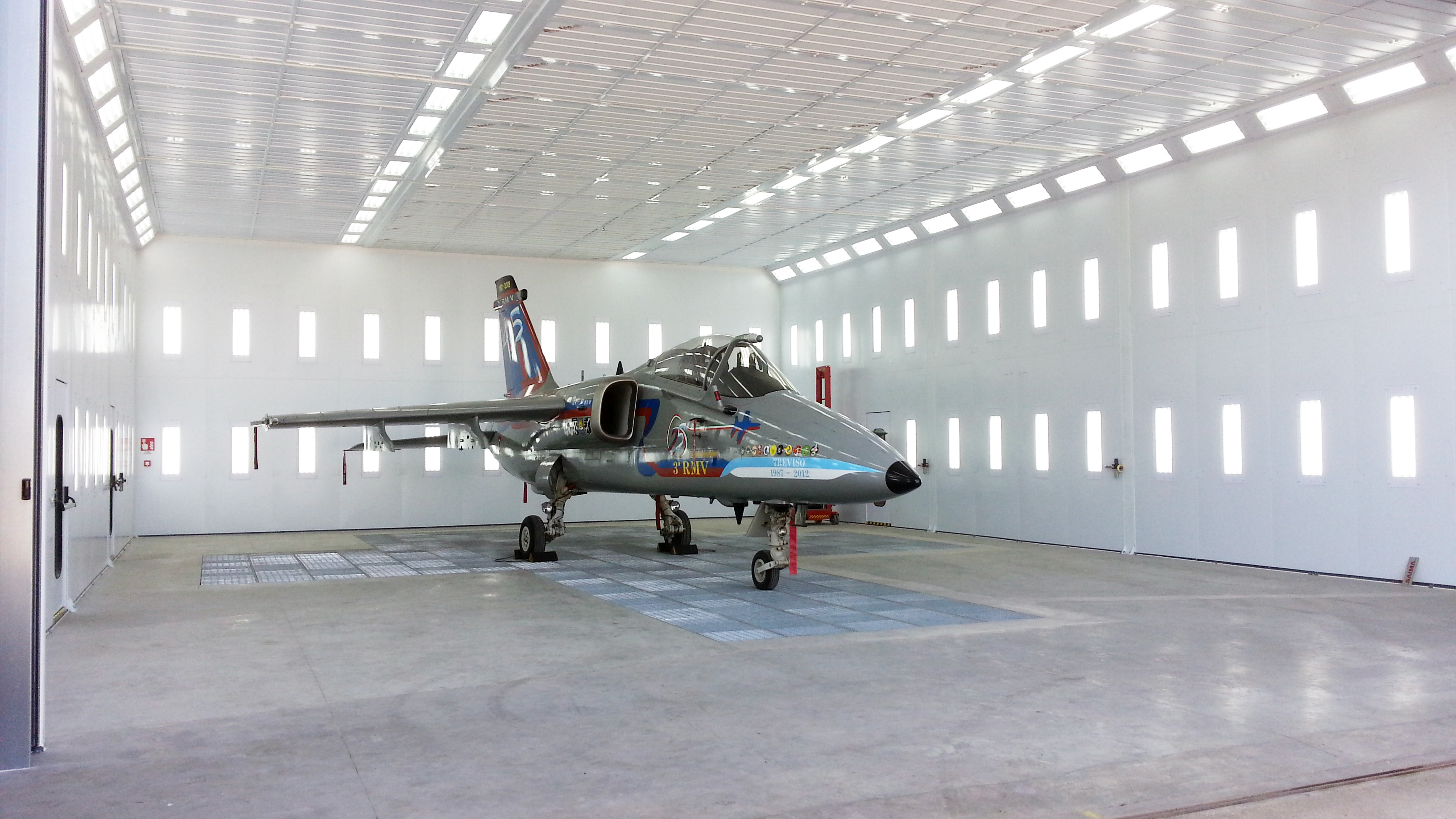 Aerospace Paint Booth for Aircraft
