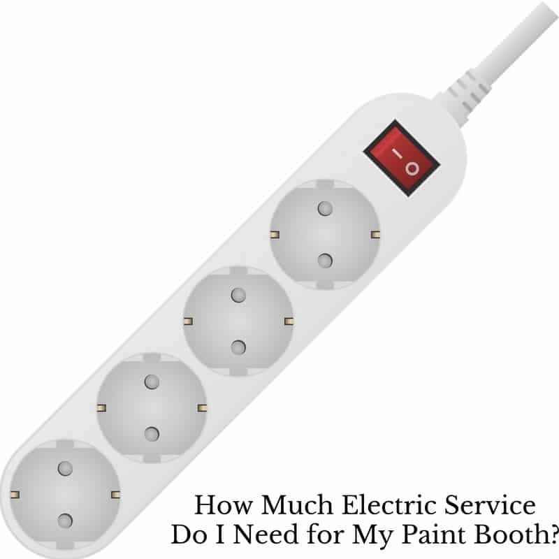 How Much Electric Service Do I Need for My Paint Booth? | Accudraft