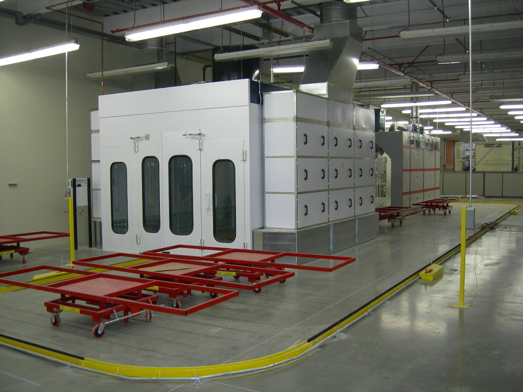 Industrial Paint Booths Products Accudraft