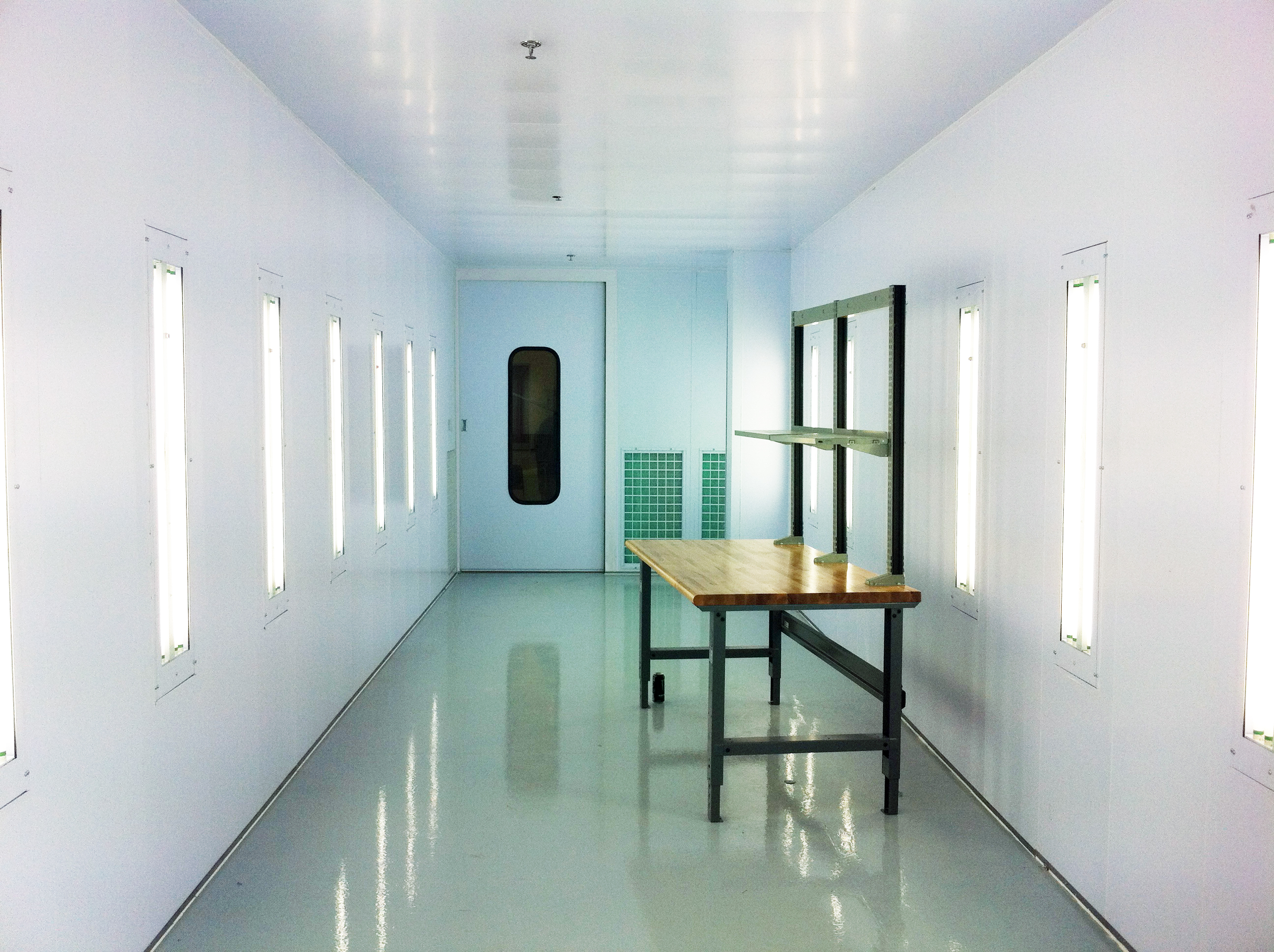 Furniture and wood working paint booths