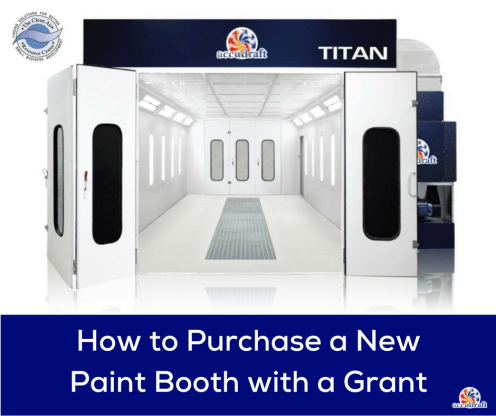 How to Purchase a New Paint Booth with a Grant