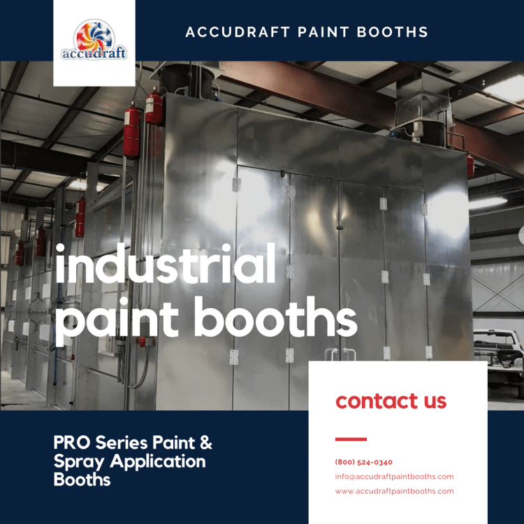 Industrial Paint Booths - Accudraft PRO Series