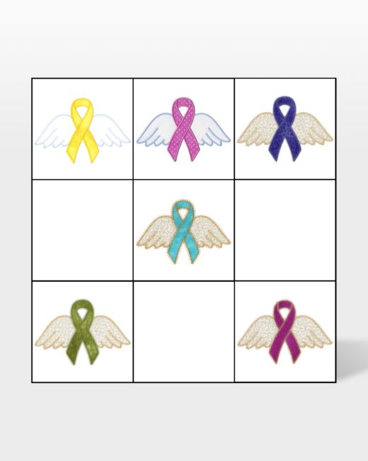 go awareness ribbons with