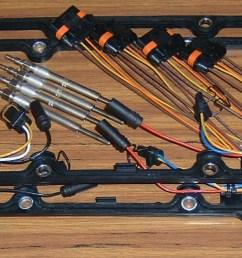 glow plug 6 0 wire harnes system [ 1506 x 540 Pixel ]