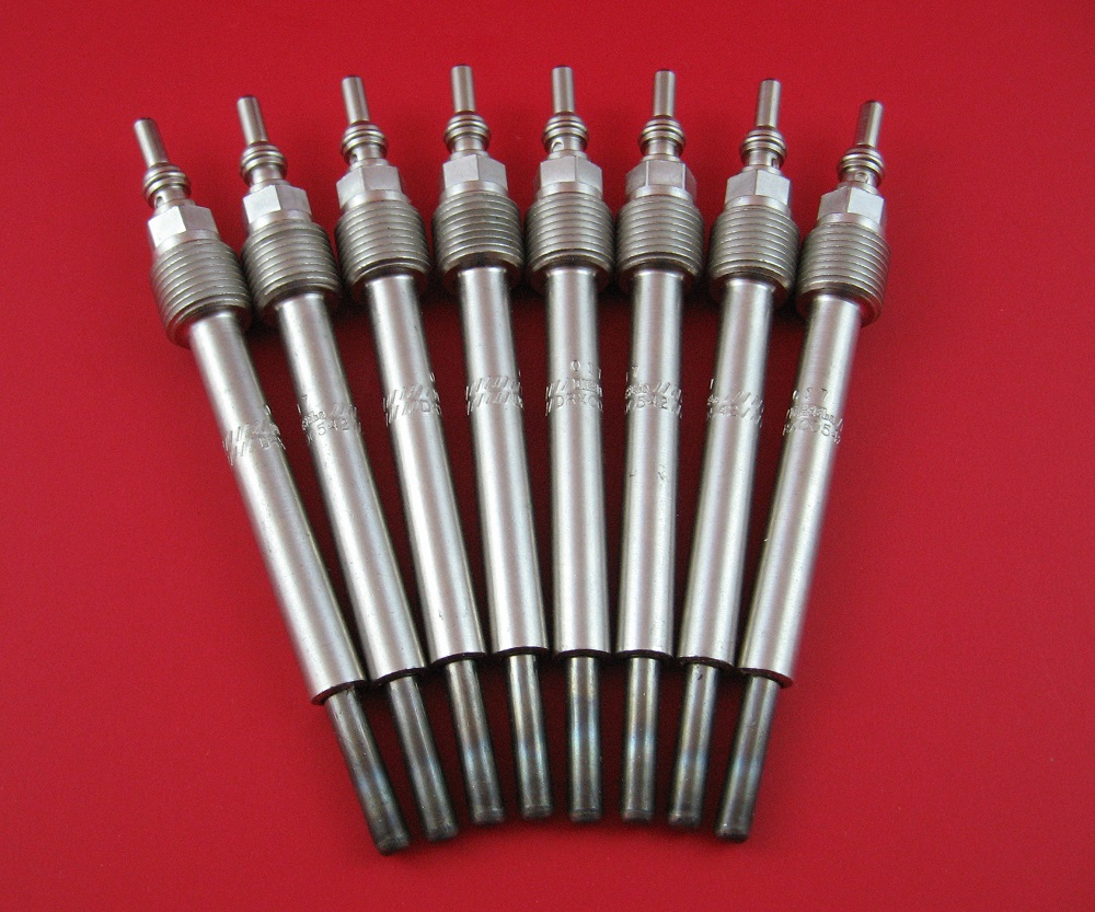 medium resolution of premium dual coil glow plug set ford powerstroke 6 4l 6 4l glow plugs