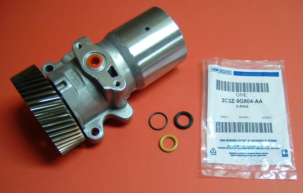 medium resolution of 2004 ford 6 0 return fuel filter location