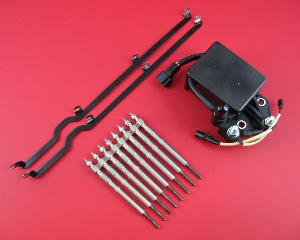 medium resolution of duramax lb7 glow plug super kit glow plugs relay straps lb7 glow plugs