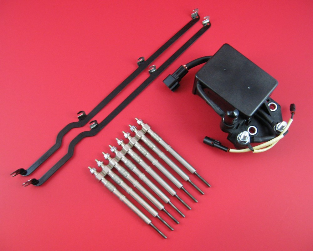 hight resolution of duramax lb7 glow plug super kit glow plugs relay straps lb7 glow plugs