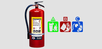 ABC Multipurpose Dry Chemical Extinguisher (Extra Pressure)