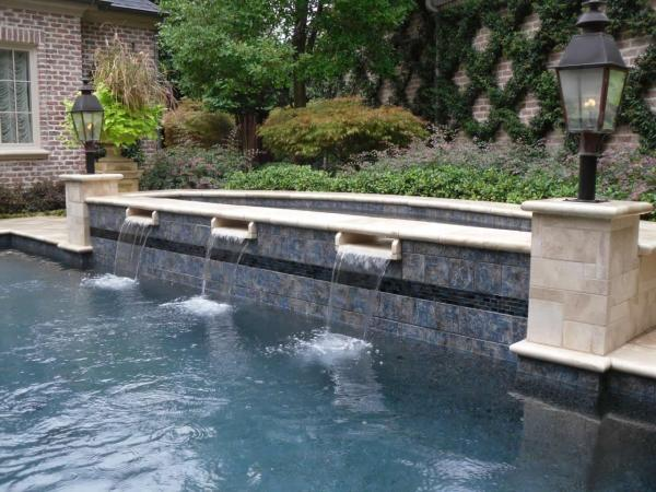 Swimming Pool Scupper Water Feature