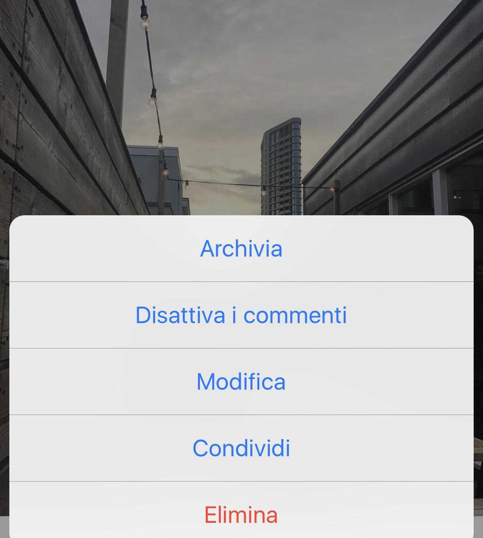 instagram archivia