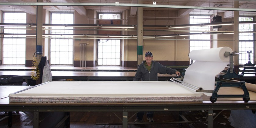 Our wide cutting tables