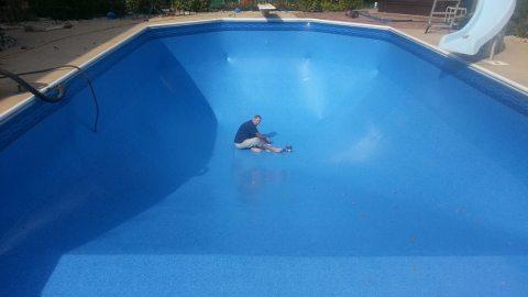 In Ground Pool Vinyl Liner Replacement in Greendale