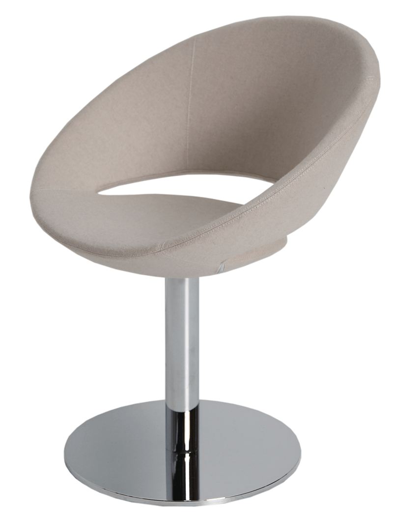 Soho Concept Crescent Round Dining Chair Swivel Office Chair