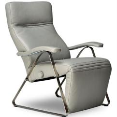 Ergonomic Recliner Chair Cynthia Rowley Nailhead Accent Kitty Fixed Base Lafer