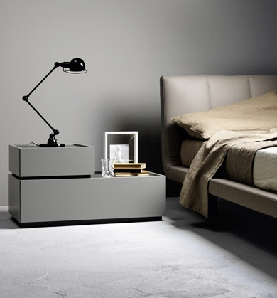 swivel living room chairs modern wooden tables a sirio bed by sangiacomo furniture italy beds
