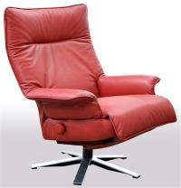 Lafer Valentina Recliner Chair Leather Luxury Lafer Swivel ...