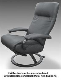 Reclining Chair Kiri Lafer Reclining Chairs Lafer Leather ...