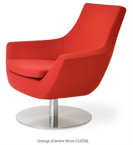 Soho Concept Rebecca Armchair Swivel Round Chair Lounge Chairs