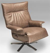 Recliner Valentina Lafer Recliner Chair Leather Swivel ...