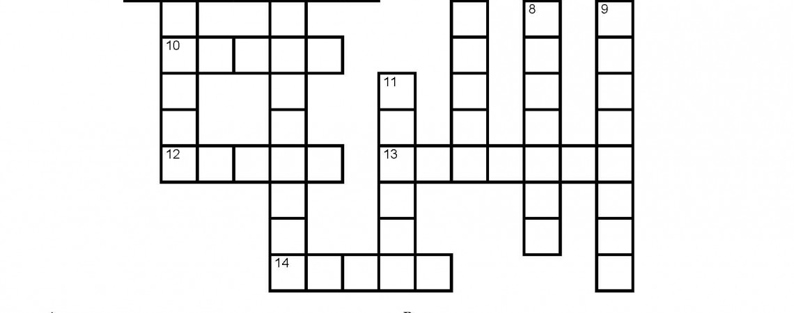 Static Electricity Crossword Puzzle