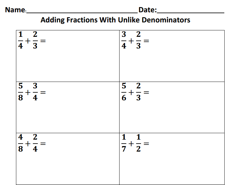 Worksheet Archives - Page 8 Of 11 - AccuTeach