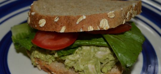 Avocado Chicken Salad Sandwich Recipe