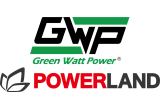 Green-Watt-Power-Powerland Logo