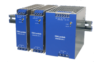 DRB – Cost-effective 120 W and 240 W DIN rail power supplies
