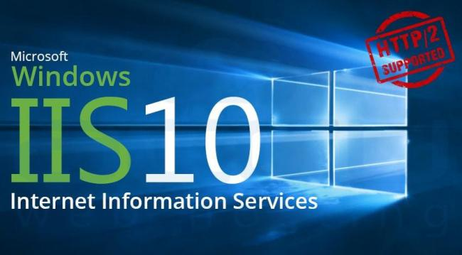 Windows Server 2016 Now Supports IIS 10