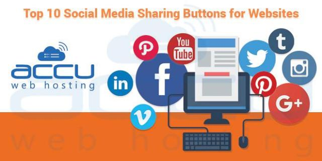 aab305a3238 Top 10 Social Media Share Buttons and Widgets for Website - AccuWeb Hosting