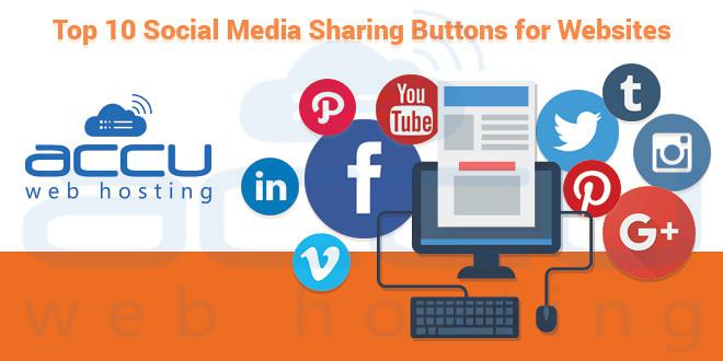 Top 10 Social Media Share Buttons and Widgets for Website ...