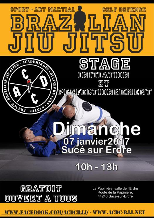 Affiche A3 stage janvier 2018 212x300 - Stage JJB le 07 janvier 2018