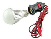 E27 LED Bulb + Holder 7w | ACDC LED Lights