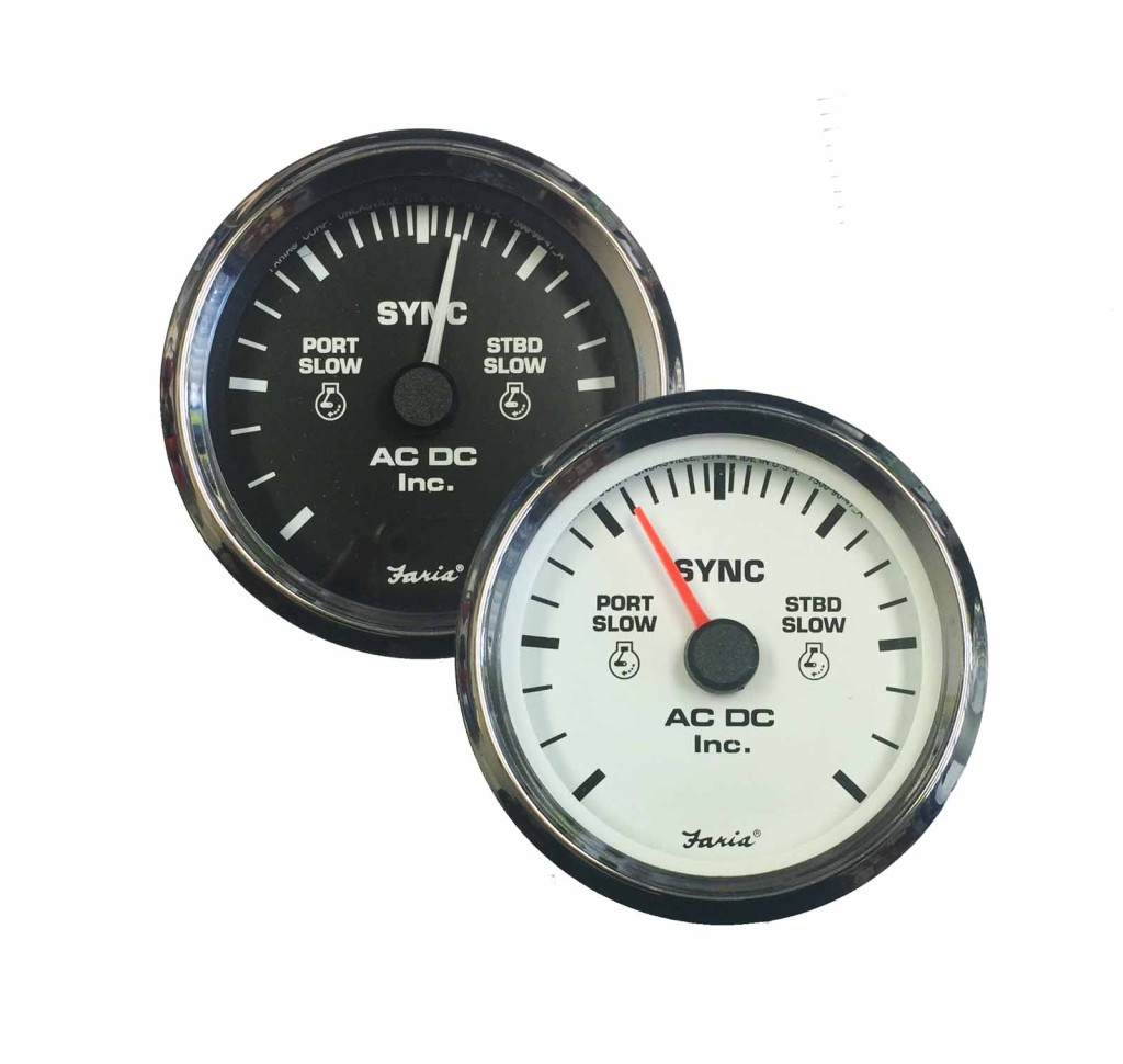 Gauges U2013 Ac Dc Marine Inc Auto Electrical Wiring Diagram Tachometer To