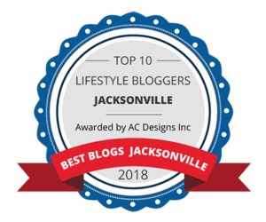 Top 10 Lifestyle Bloggers from Jacksonville – Awarded By AC Designs Inc.