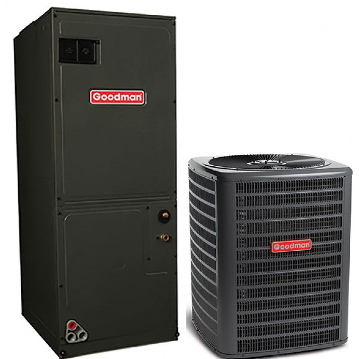 hight resolution of goodman 2 0 ton 16 seer cooling only split system