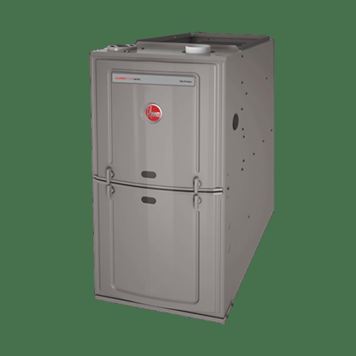Rheem 125K BTU 80% Efficient Natural Gas Upflow/Horizontal