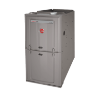 Rheem 125K BTU 80% Efficient Natural Gas Upflow/Horizontal