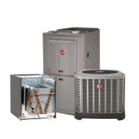 Rheem 1.5 Ton 14 SEER AC system with 80% 50K BTU Natural ...
