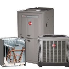 Gas Furnace Lewis Dot Diagram Covalent Bonds Rheem 2 0 Ton 14 Seer Ac System With 80 50k Btu Natural Low Price Guarantee