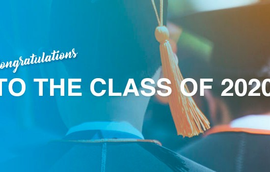 Congratulations to the class of 2020 – major challenges will be faced by the Class of 2021