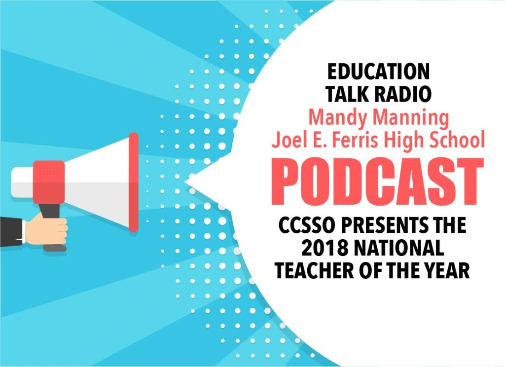 CCSSO Presents the National Teacher of the Year, 2018