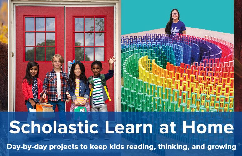 Scholastic Has Launched a Learn at Home Site Plus a Resource Site to Teach Children About Coronavirus